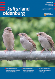 kulturland oldenburg 02.2015, Cover