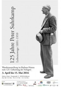 Plakat Suhrkamp.Ausstellung