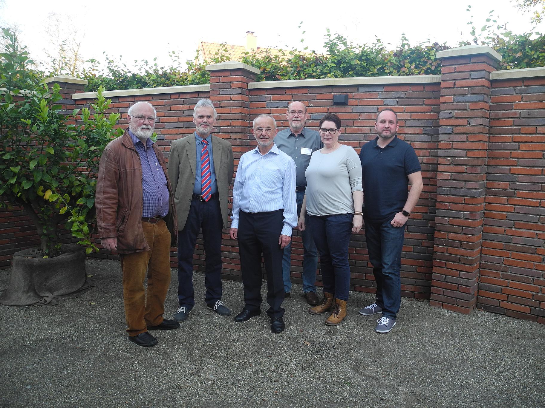 Mitglieder des Vorstandes (v.l.): Werner Krull, Wolfgang Martens, Dierk Feye, Ernst Heinje, Tanja Bals, Timo Kracke